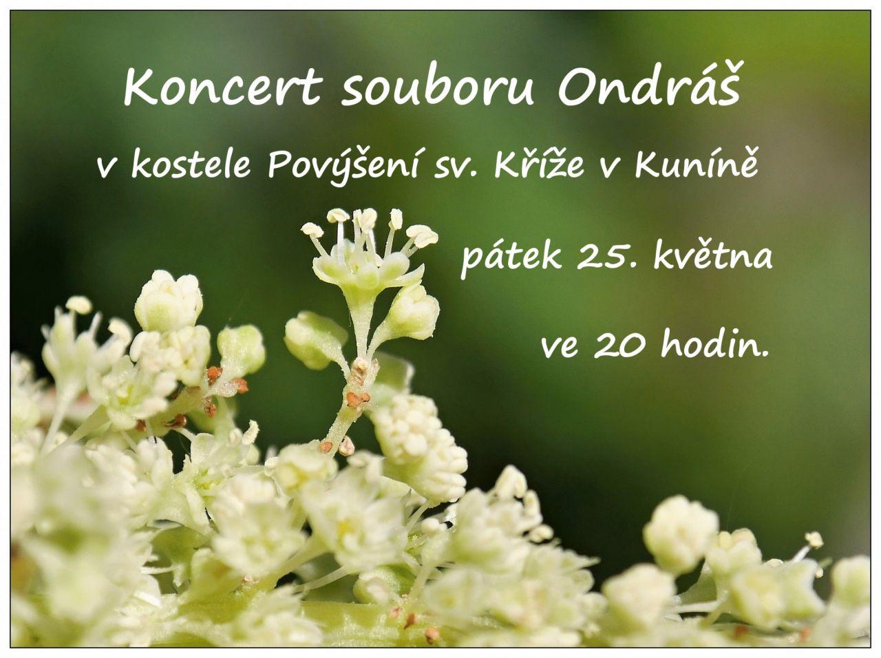 Koncert souboru Ondráš 1